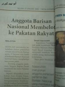Petikan daripada Media Indonesia