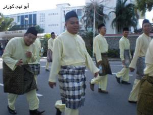 Ust Sufian (belakang) bersama Jabatan Pelajaran Sabah