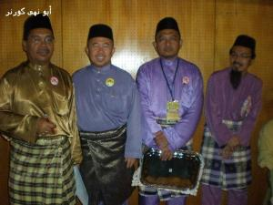 Orang penting.. Ust Baharuddin, Hj Hassan, Ust Abdillah & Ust Musally