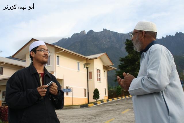 """""""Umat Islam di Sabah wajib bersyukur, Allah SWT memberi nikmat gunung kinabalu yang sangat cantik dan gagah. Tiada sesiapa yang boleh menjadikan makhluk sehebat ini kecuali Allah. Besarkan dan agungkan Allah"""" - Hj Ayub"""