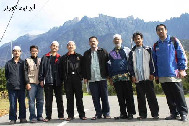 Rombongan Kota Kinabalu merakam kenangan
