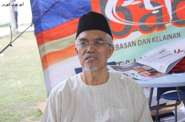 Tuan Hj Subky Abd Latif. Sifu dalam bidang kewartawanan.