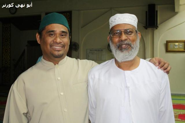 Ustaz Kamarool Azhar, guru di SM St Anthony juga orang kuat PPD, orang belakang tabir bagi menjayakan program sepanjang kami berada di Tenom.