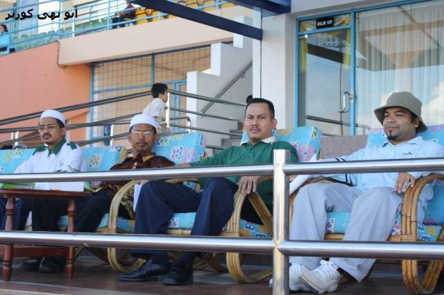 Dari kiri : Ust Zul, Abd Hamed, Ust Mad & Fitri