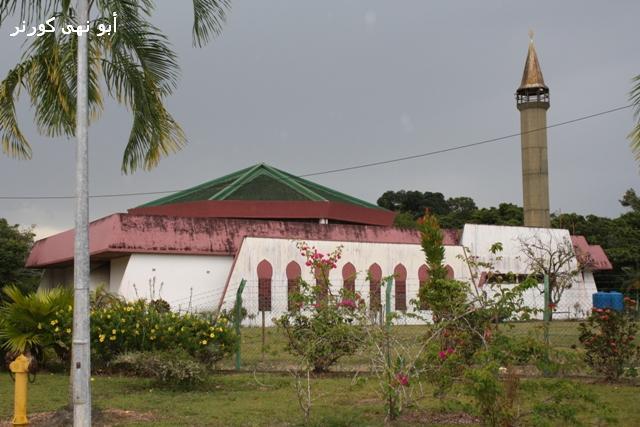 Masjid Sahabat, di sempadan Sabah & Sarawak, salah sebuah lokasi ceramah kami