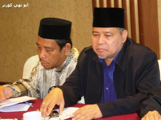 Ust Hj Md Ilham (kiri) bersama Dato Hj Sallehuddin Omar