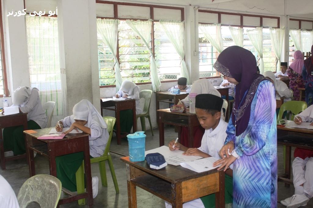 Foto-foto dirakam di Madrasah Islamiah Masjid Negeri Sabah dan SMAN