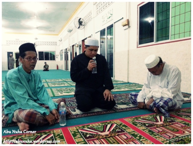 Ruqyah @ Masjid Sembulan