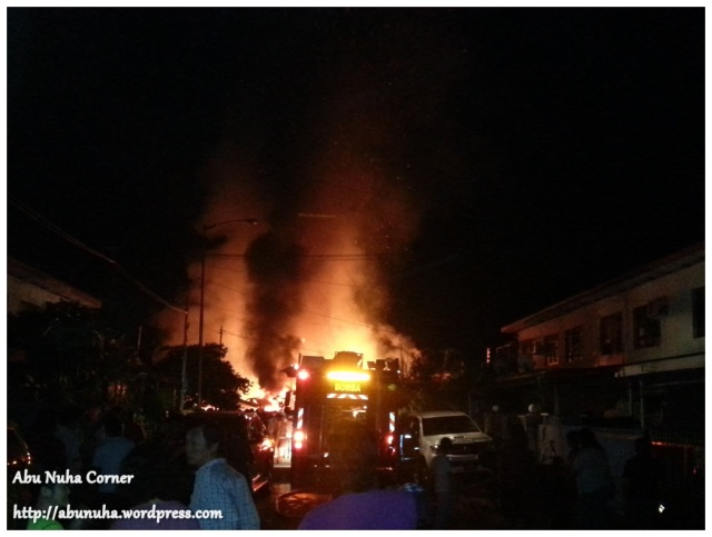 Kebakaran di Kg Muhibbah Baru (1)