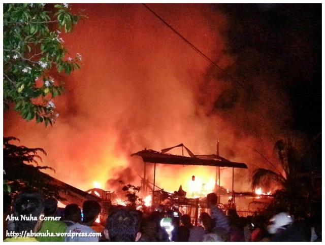 Kebakaran di Kg Muhibbah Baru (2)