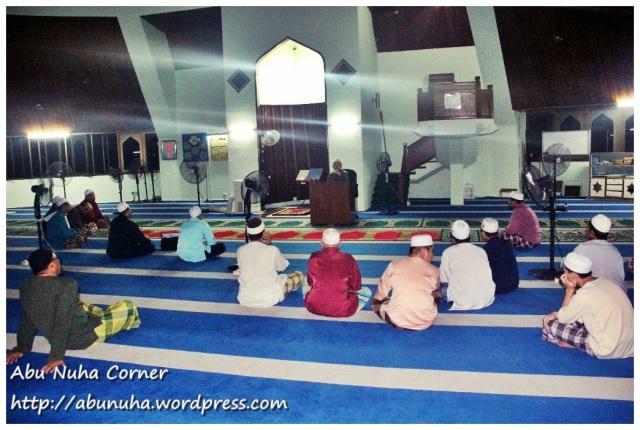 Ceramah @ Masjid Daerah Keningau (5)