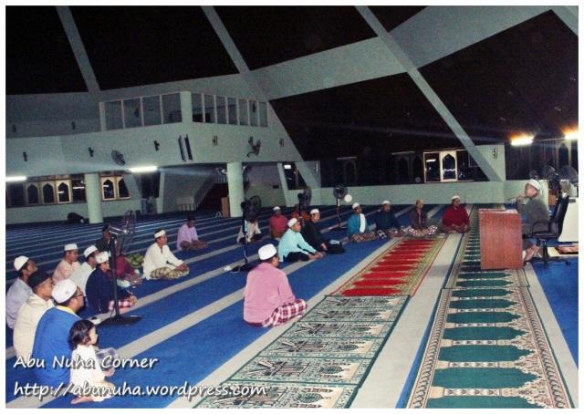 Ceramah @ Masjid Daerah Keningau (6)