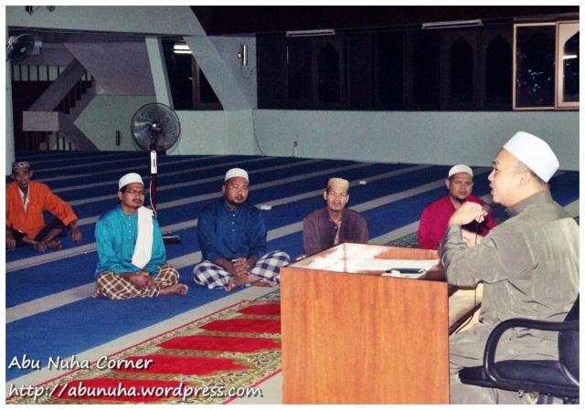 Ceramah @ Masjid Daerah Keningau (7)