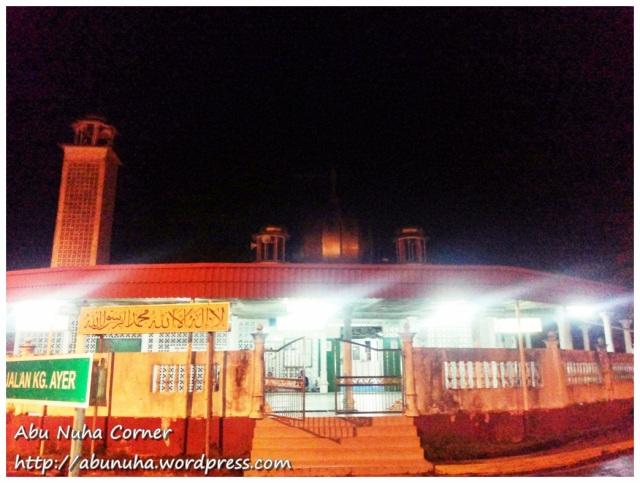 Masjid Kg Ayer Kudat (1)