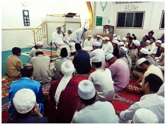 Sh Mustafa @ Masjid Sembulan (1)
