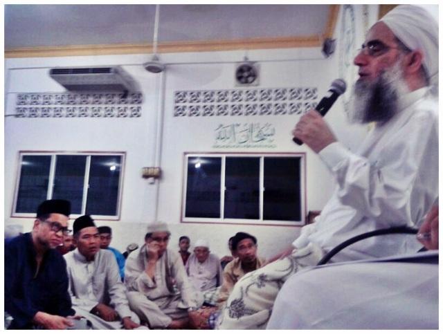 Sh Mustafa @ Masjid Sembulan (2)