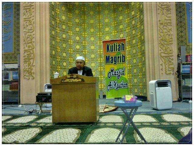 Ceramah @ Masjid al-Kauthar (3)