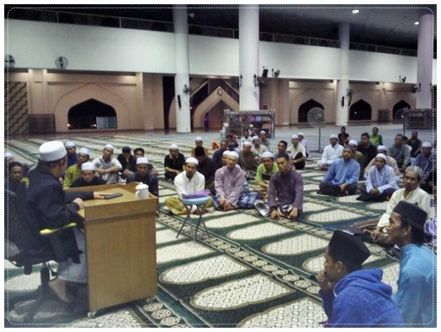 Ceramah @ Masjid al-Kauthar (5)