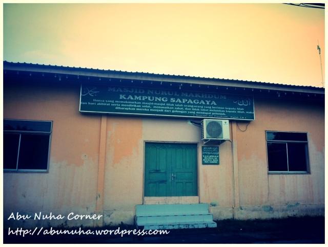 Masjid Nurul Makhdum (4)