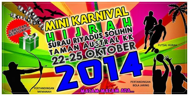 Karnival Hijrah 1436 @ Austral (1)