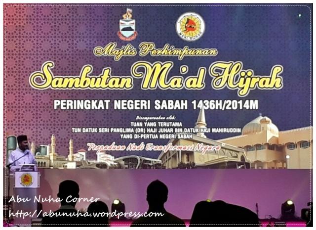 Maal Hijrah 1436 Sabah (1)